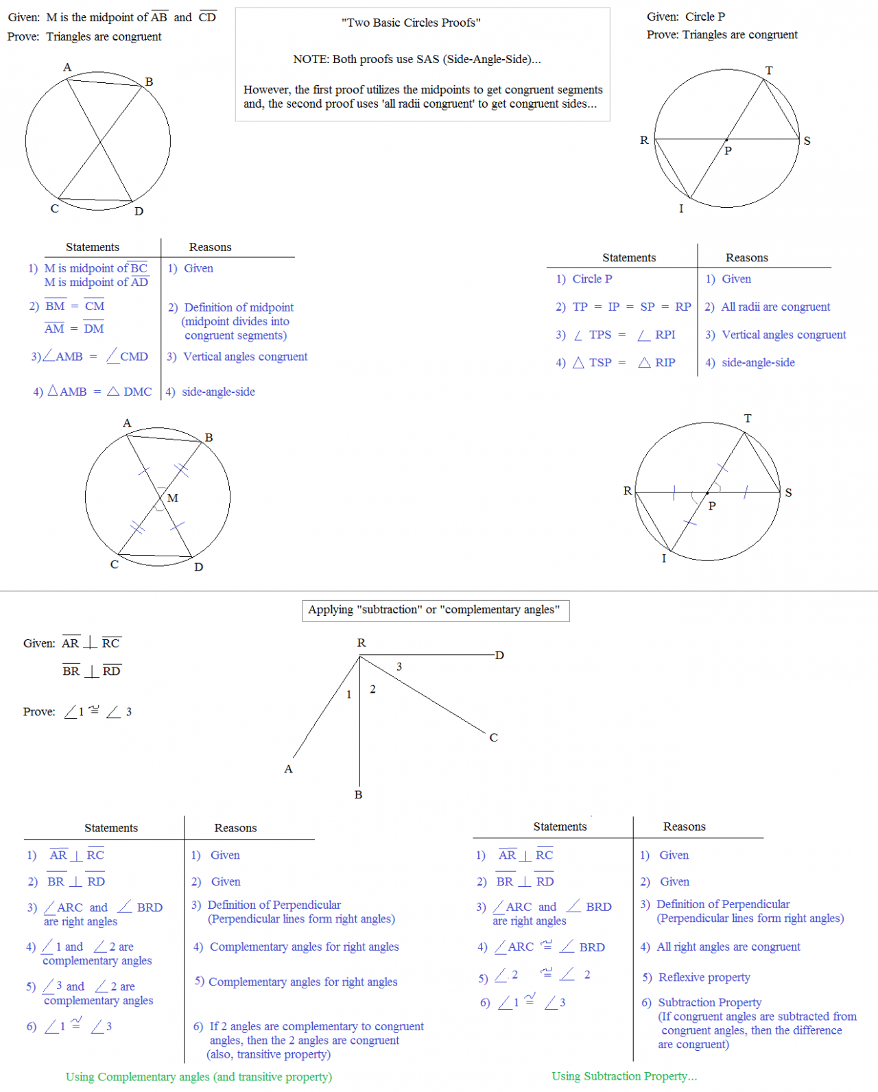 worksheet Cpctc Proofs Worksheet With Answers math plane postulates and proof examples comparison circles