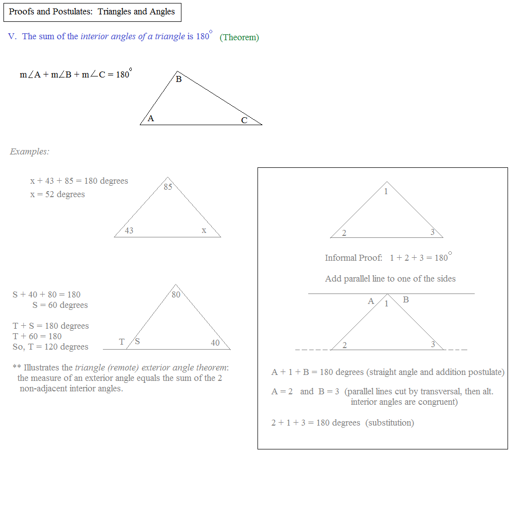 Download Free Geometry Proofs and Postulates Examples .pdf file