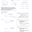 special right triangle notes