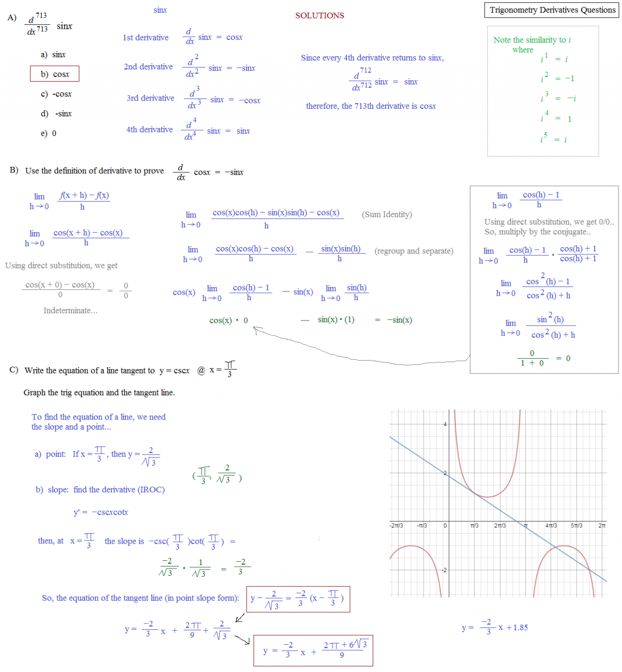 Of Trig Functions Rela...