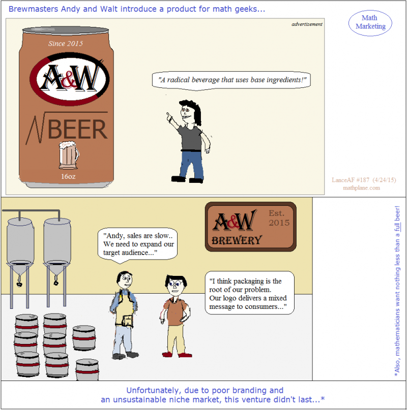webcomic 187 math marketing root beer