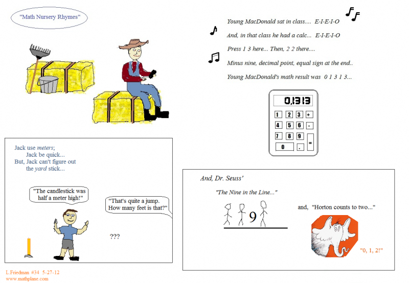 webcomic 34 math nursery rhymes