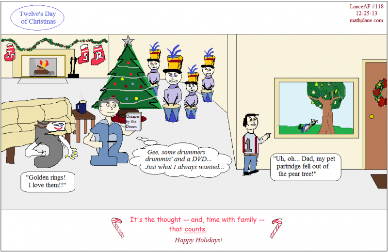 webcomic 118 twelves day of christmas